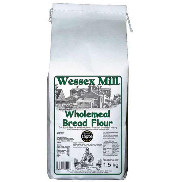 Wholemeal Bread Flour Wessex Mill 1.5kg